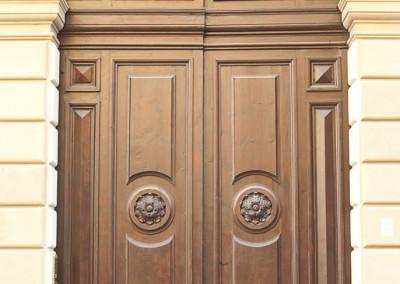 Portone d'Ingresso di Palazzo Legnani Pizzardi