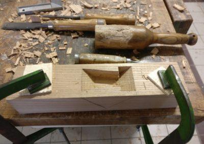 Pialla in legno